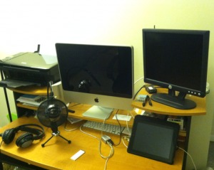 My Podcast Setup July 2012